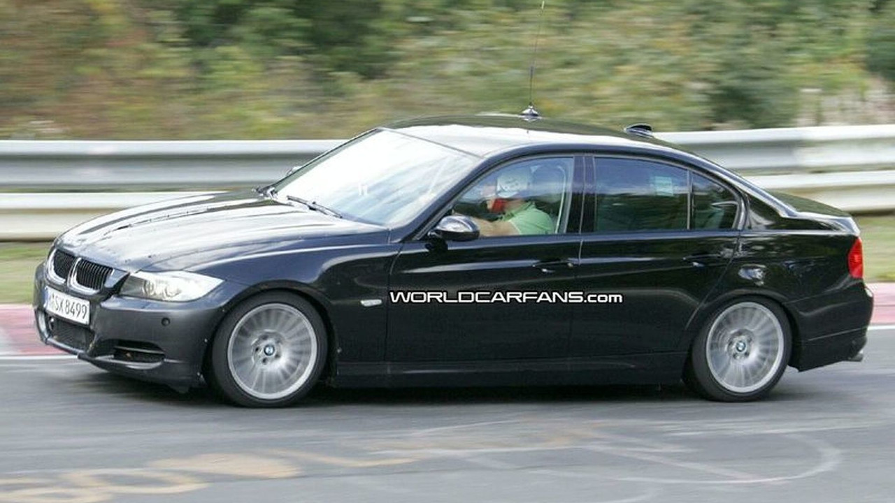 BMW E90 Facelift Spied