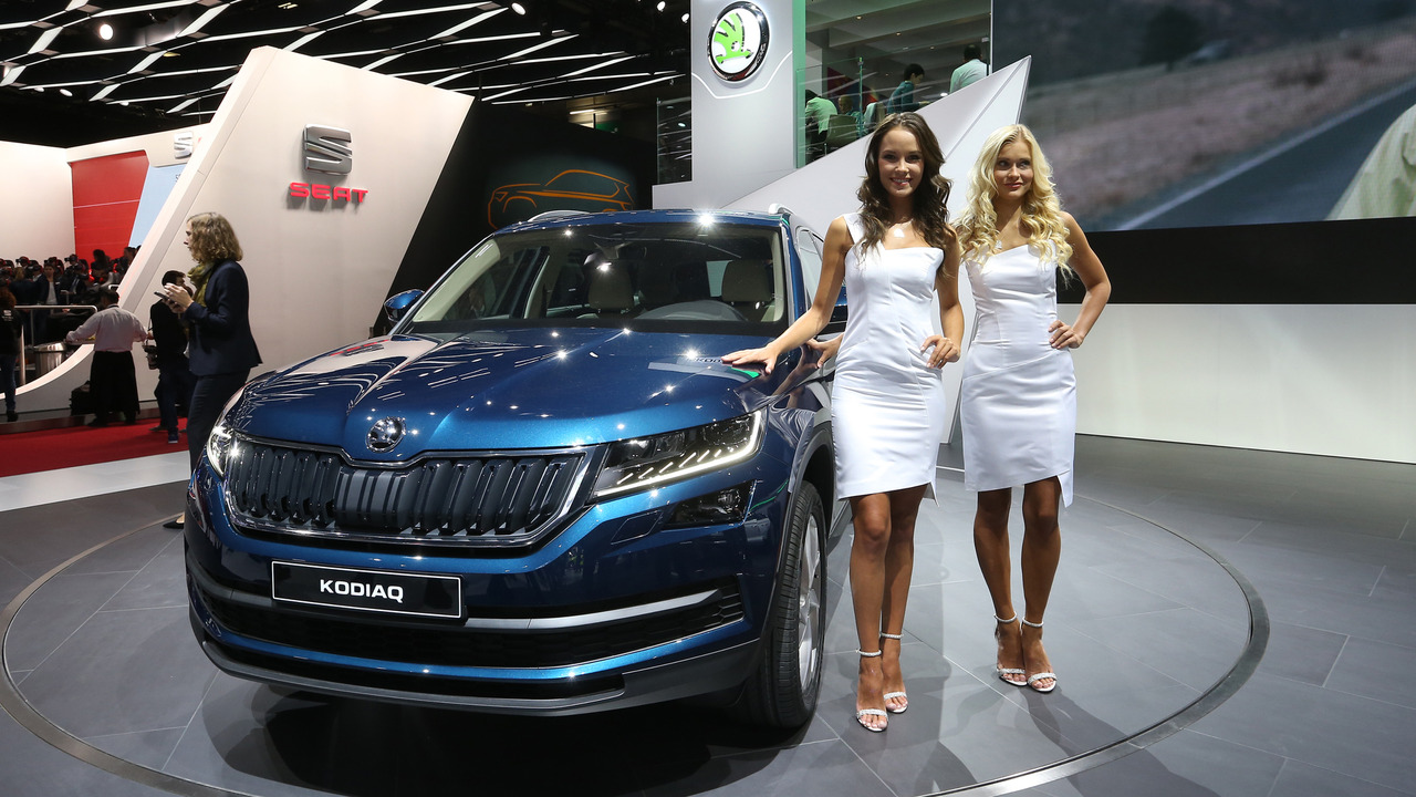 skoda kodiaq suv debuts in paris. Black Bedroom Furniture Sets. Home Design Ideas