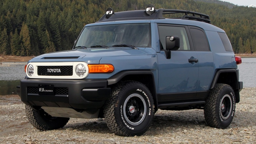 2014 Toyota FJ Cruiser Trail Teams Ultimate Edition