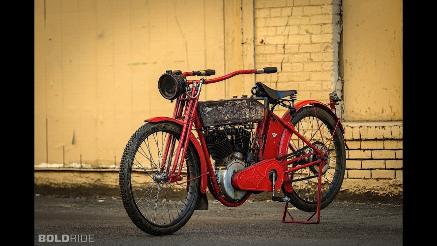 Harley Davidson X8E Big Twin owned by Steve McQueen