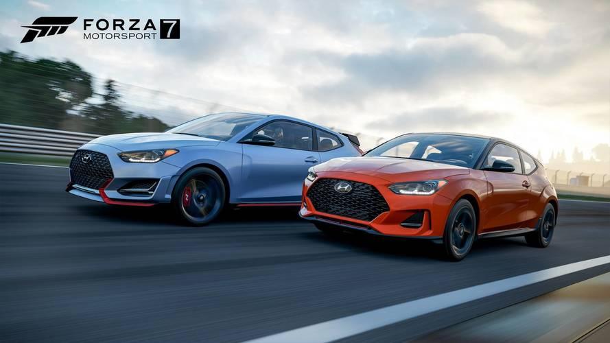 2019 Hyundai Veloster Turbo, Veloster N in Forza Motorsport 7 | Motor1.com Photos