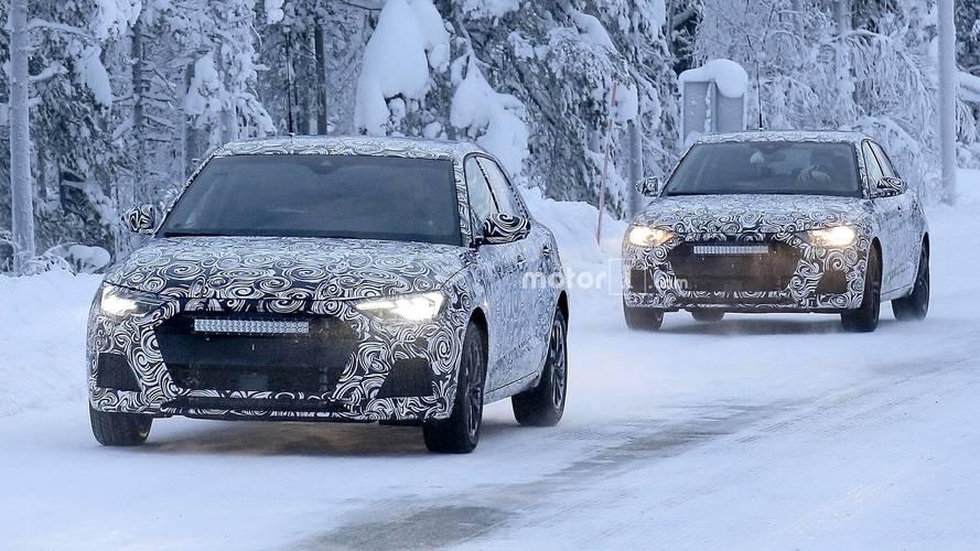 Yeni Audi A1, LED farlarıyla yakalandı