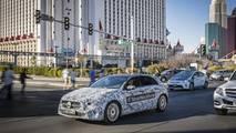2018 Mercedes A Serisi iç mekan detayı