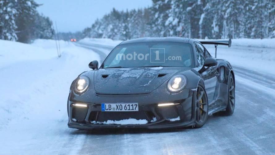 Porsche 911 GT3 RS Spy Photos