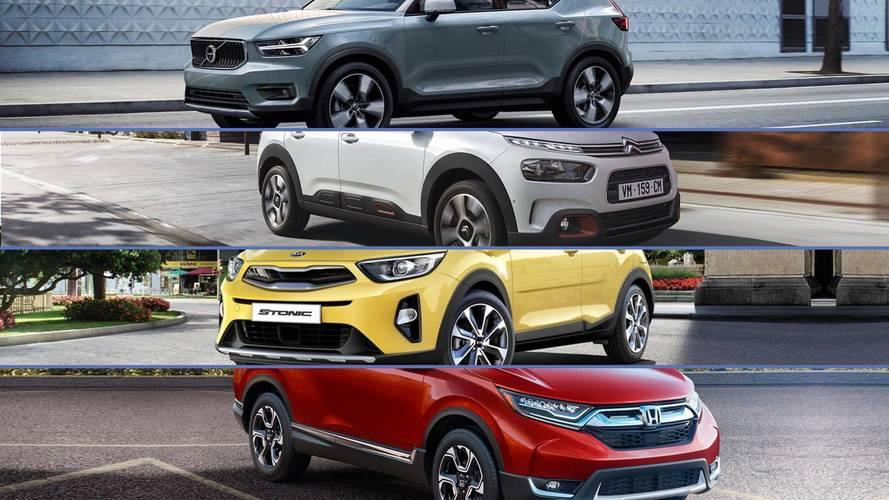 Lista - Os 20 SUVs que chegam ao Brasil em 2018