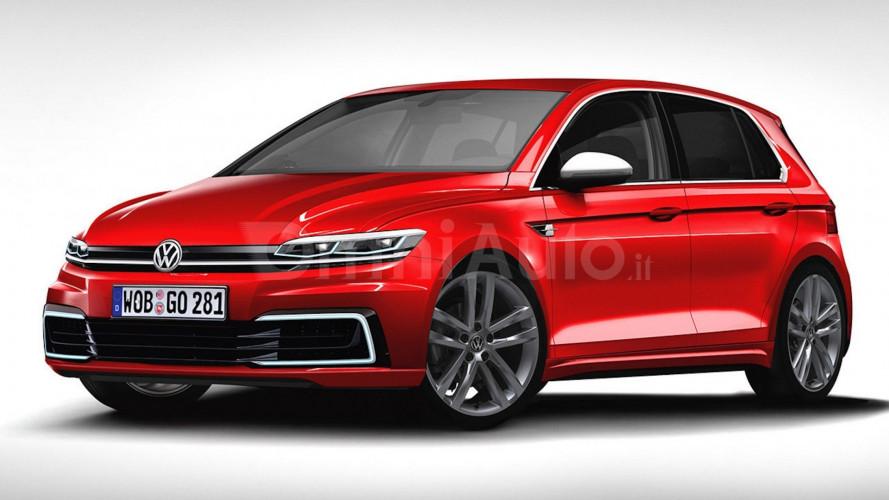 Volkswagen Golf, la nuova in produzione da giugno 2019