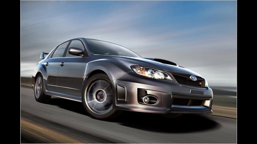 Subaru schärft den Super-Impreza nach