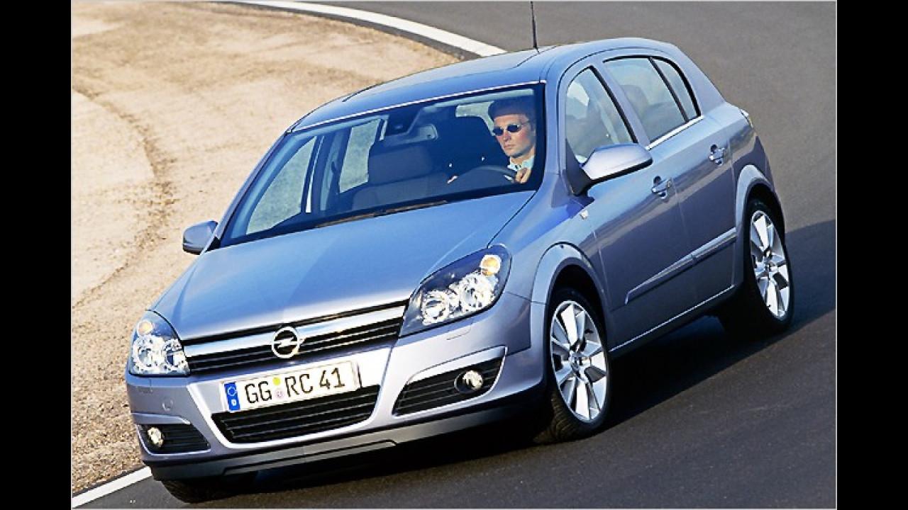 5. Platz: Opel Astra 1.6 Edition