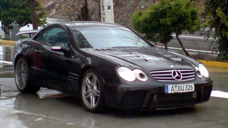 New Mercedes SLC Super Sports Car Spy Photos