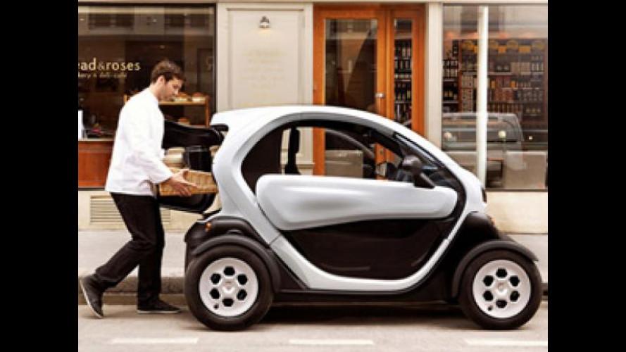 Renault Twizy adesso è anche Cargo