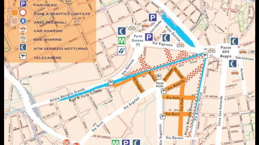 Milano: attive le telecamere della Ztl Navigli
