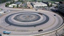 Skidpan test track 1984