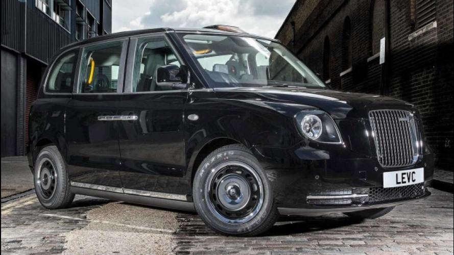 Taxi di Londra, presentato l'ibrido LEVC TX