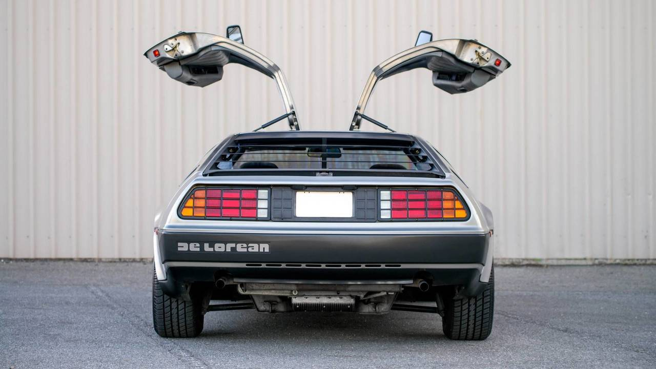 Delorean, Regreso al futuro