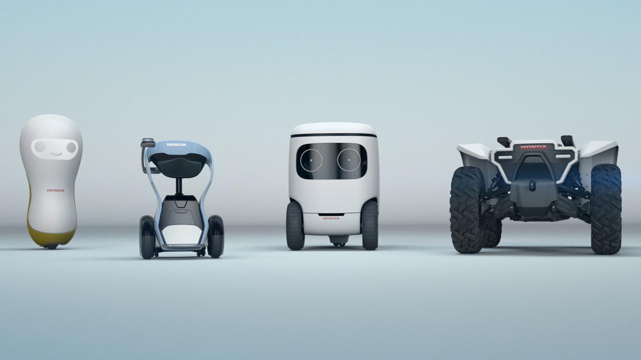 Honda, i robot del CES 2018