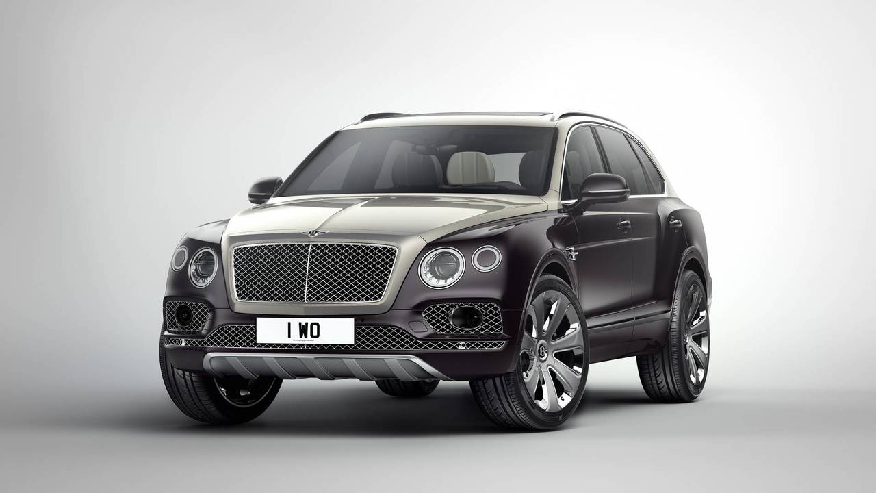 1. Bentley Bentayga Mulliner AWD: Up to $353,555