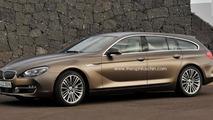 BMW 6-Series Gran Touring rendering 03.7.2012