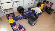 2012 Red Bull RB8 Formula 1 race car cardboard replica, 800, 25.02.2012