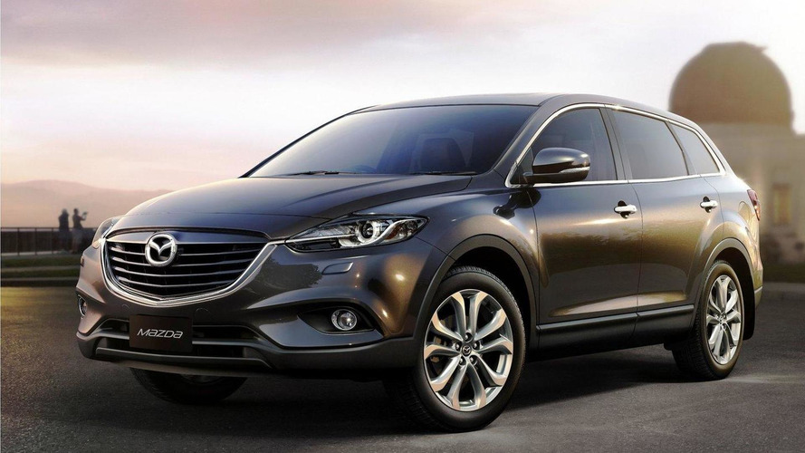 Mazda cx 9 news and opinion motor1 2013 mazda cx 9 facelift revealed thecheapjerseys Choice Image