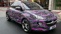 Vauxhall Adam art cars unveiled in London [video]