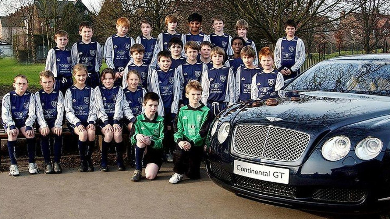 Bentley sponsors Bowden School soccer team