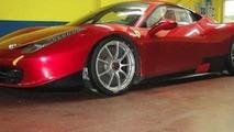 Ferrari 458 Italia Challenge spy photo, 650, 25.05.2010