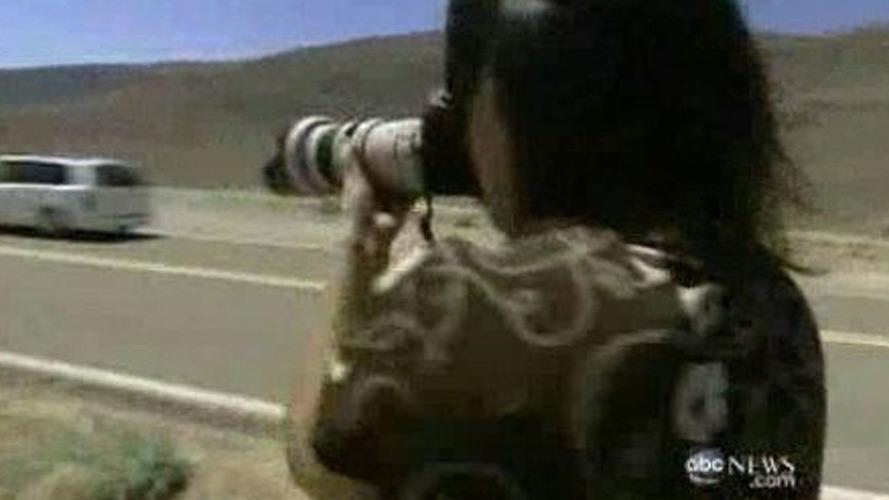 Spy Photographer Brenda Priddy featured on American TV News program