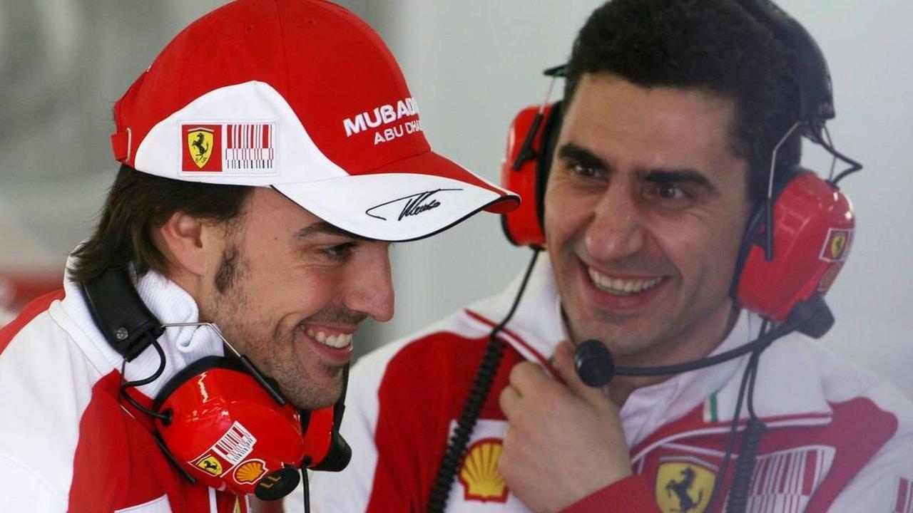 Fernando Alonso (ESP), Scuderia Ferrari, Formula 1 Testing, 02.02.2010 Valencia, Spain,
