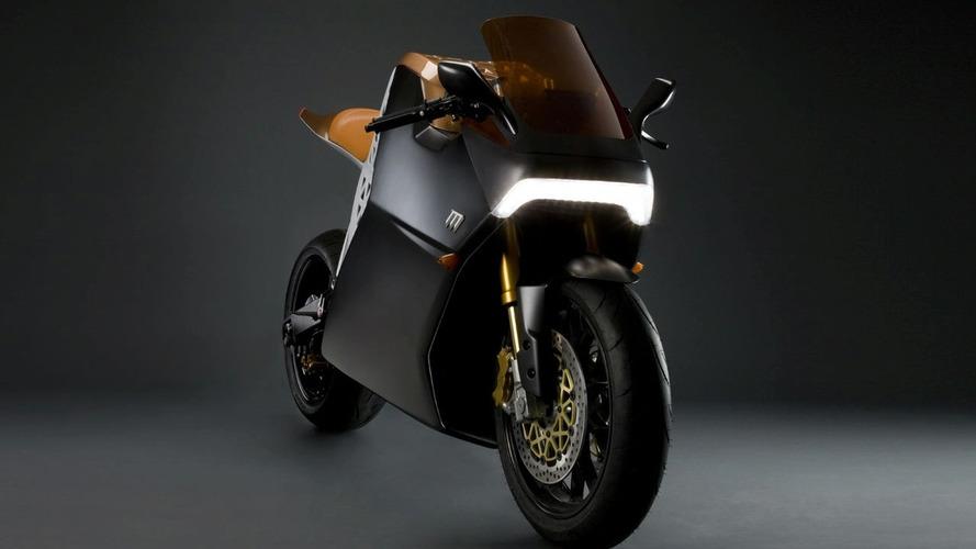 Mission One Electric Sport Bike Goes 150 mph - 150 mile range