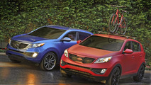 2011 Kia Sportage Work & Play SEMA concepts