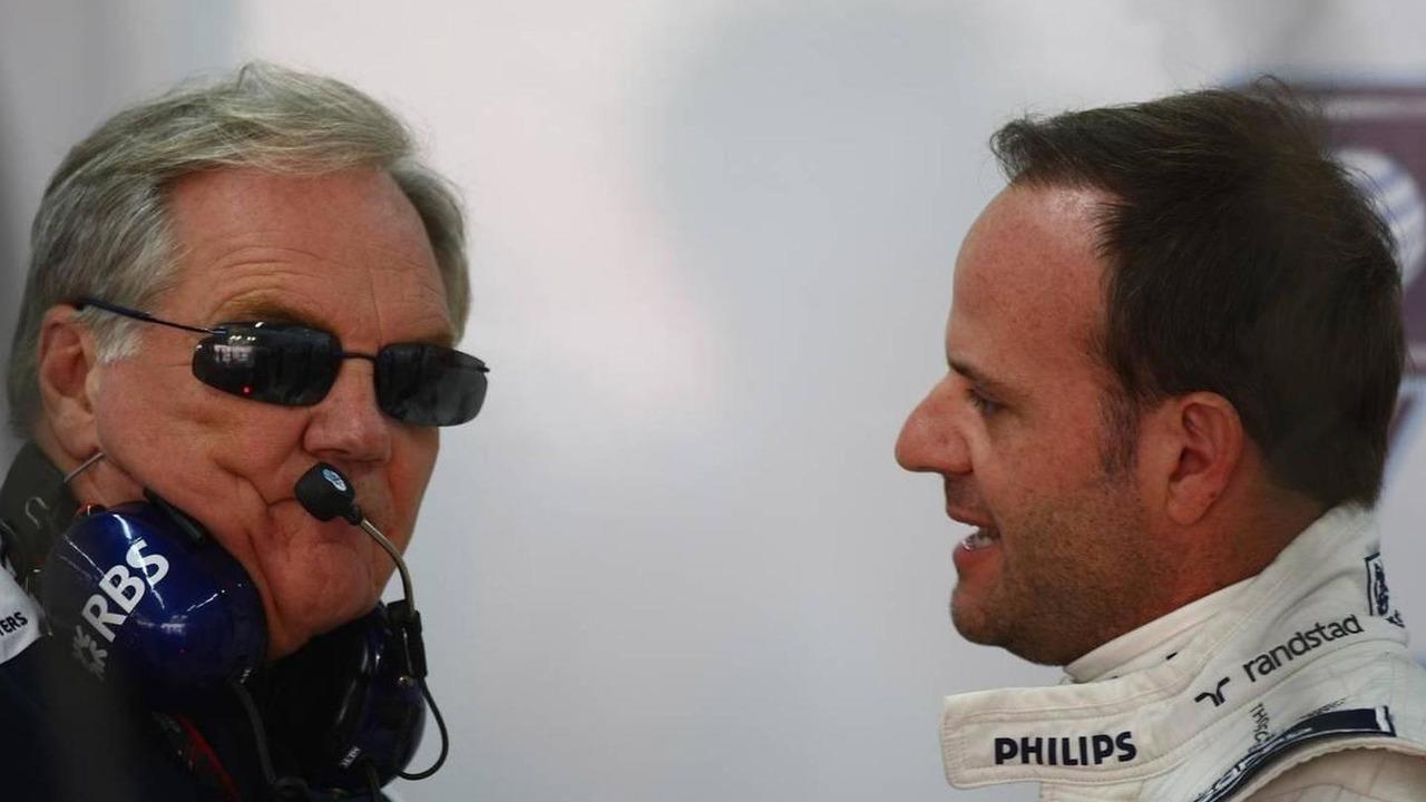 Patrick Head (GBR), WilliamsF1 Team, Director of Engineering and Rubens Barrichello (BRA), Williams F1 Team - Formula 1 World Championship, Rd 17, Korean Grand Prix, 23.10.2010 Yeongam, Korea
