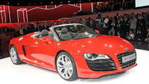 2010 Audi R8 Spyder Official Unveiling at the Volkswagen Group preview evening on the eve of the 2009 Frankfurt Motor Show
