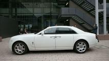 Rolls-Royce Ghost live at IAA Frankfurt 2009
