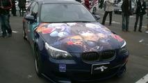 BMW M5 turned into manga car