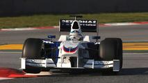 BMW Sauber F1.08B interim car at Circiut de Catalunya Barcelona