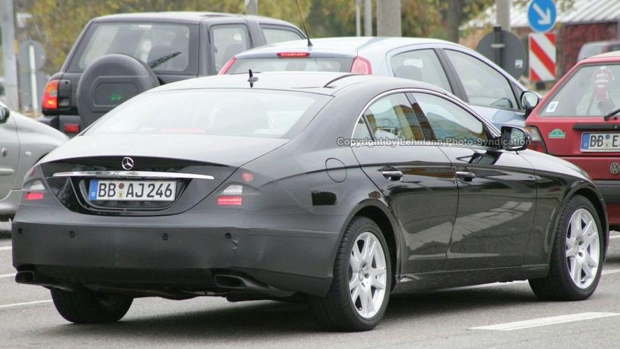 Mercedes CLS Facelift Spied
