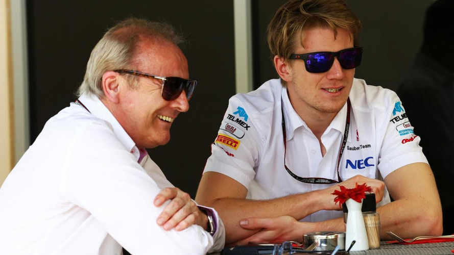 Hulkenberg spotted in Force India talks