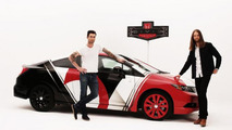 Honda shows off a Maroon 5 designed Civic Si Coupe & CBR250R motorcycle [videos]