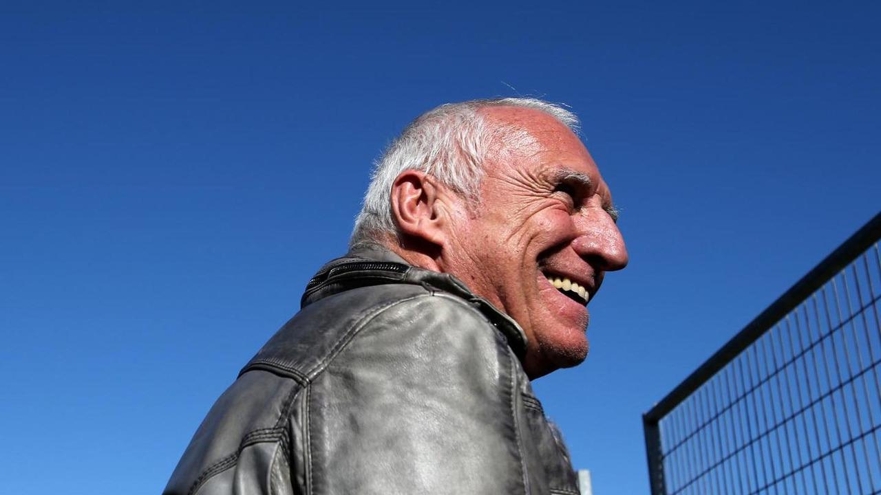 Dietrich Mateschitz 30.01.2014 Formula One Testing Jerez Spain