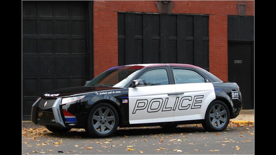 Die US-Polizei jagt Gangster künftig mit BMW-Technik