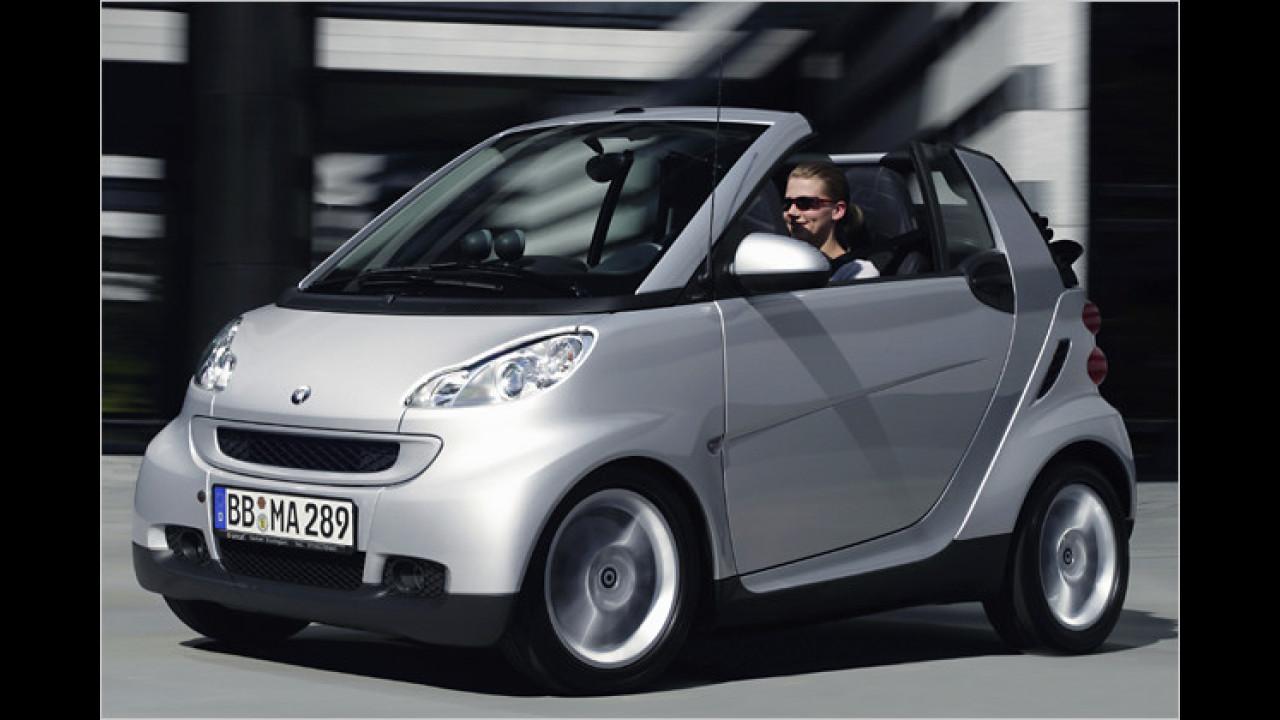 smart fortwo cabrio 1.0 mhd pure