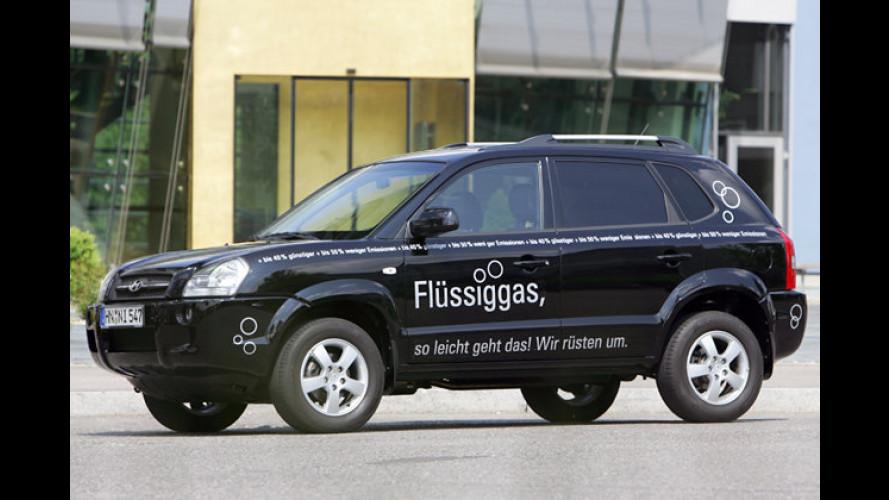 Hyundai Tucson: SUV fährt ab sofort auch mit Autogas