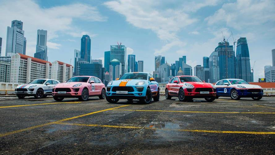 One-off Porsche Macans pay homage to racing legends