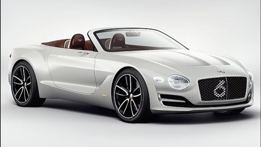 Bentley EXP 12 Speed 6e, il lusso elettrico di domani [VIDEO]