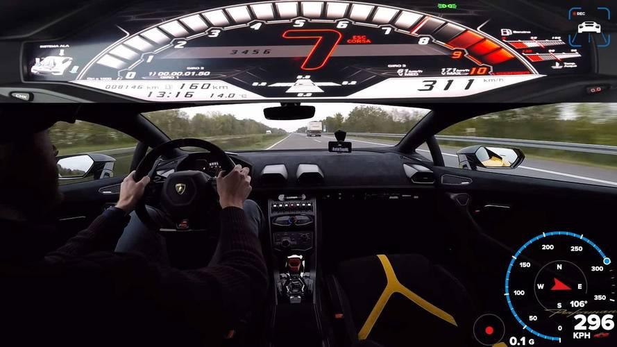 Lamborghini Huracan Performante Autobahn
