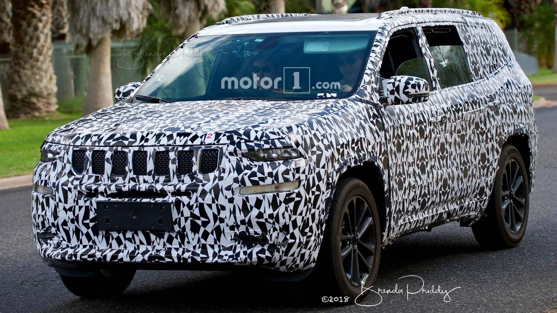 2018 - [Jeep] Grand Commander (K8) Jeep-wagoneer-spy-photos1