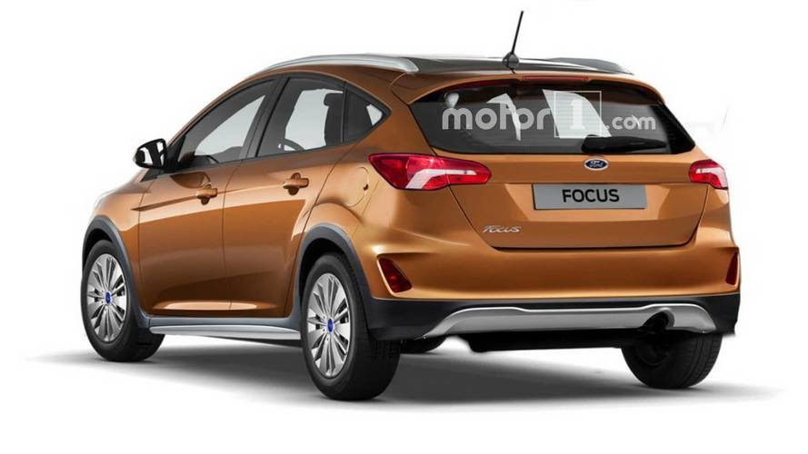 Ford Focus Active rendered with some SUV touches