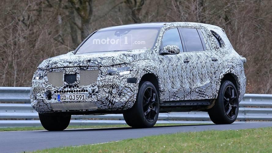 Yeni Mercedes GLS kamuflajlı olarak görüntülendi