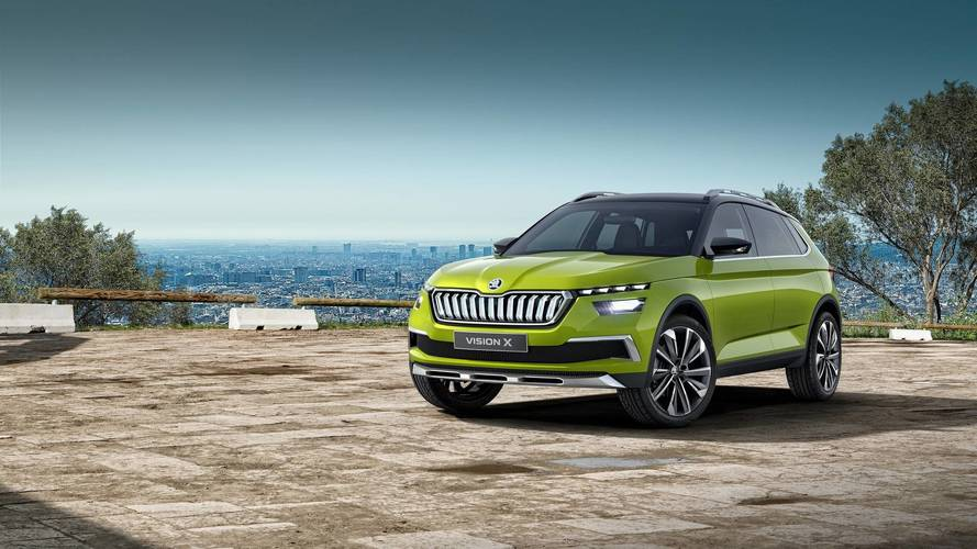 Skoda Vision X Production Model To Debut At 2019 Geneva Motor Show