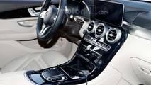 Mercedes-Benz GLC-Class Interior Spy Photo